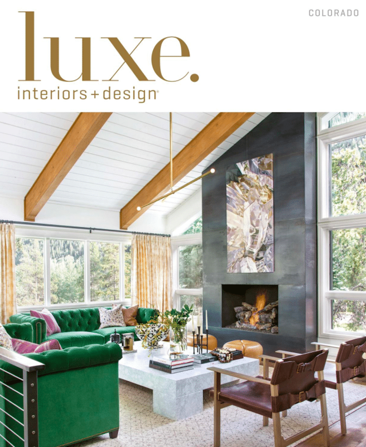 Lampe Georges Pelletier dans Luxe Magazine November 2016 Colorado