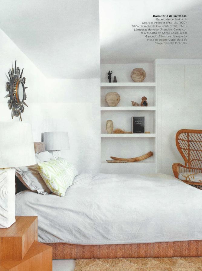 Miroir Georges Pelletier dans le Magazine Interiores septembre 2017