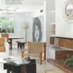 Grand Soleil et un Miroir Georges Pelletier dans le Magazine Interiores septembre 2017