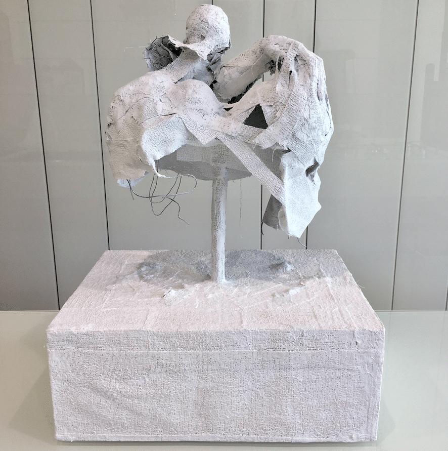 Sculpture Ariel Barsamian Personnage