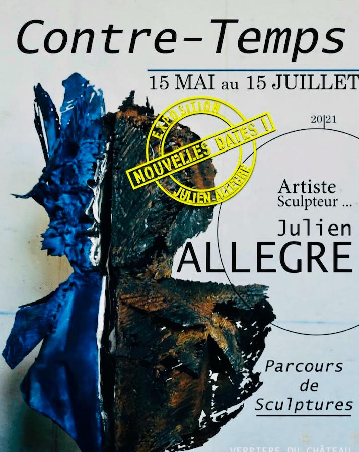 Exposition Contre-Temps Artiste Julien Allegre