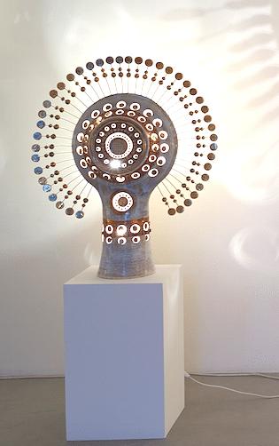 Lampe Soleil Georges Pelletier