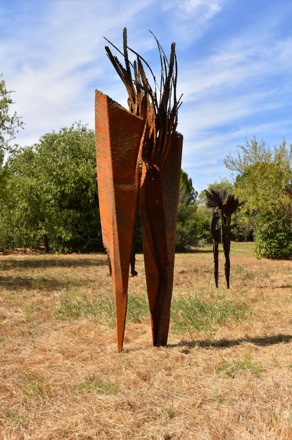 Sculpture Hommes Fossiles de Julien Allegre