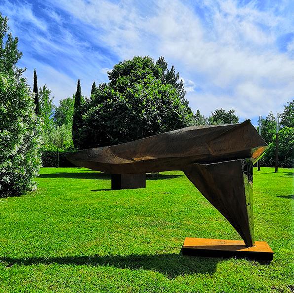 Sculpture de Julien Allegre - équilibre Parallèle
