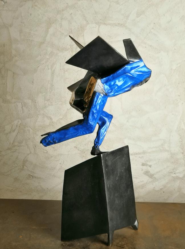 Sculpture Bronze de Julien Allegre - Victoire
