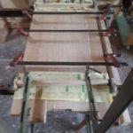 Fabrication chêne massif mobilier Cermaica Antoine JOURDAN