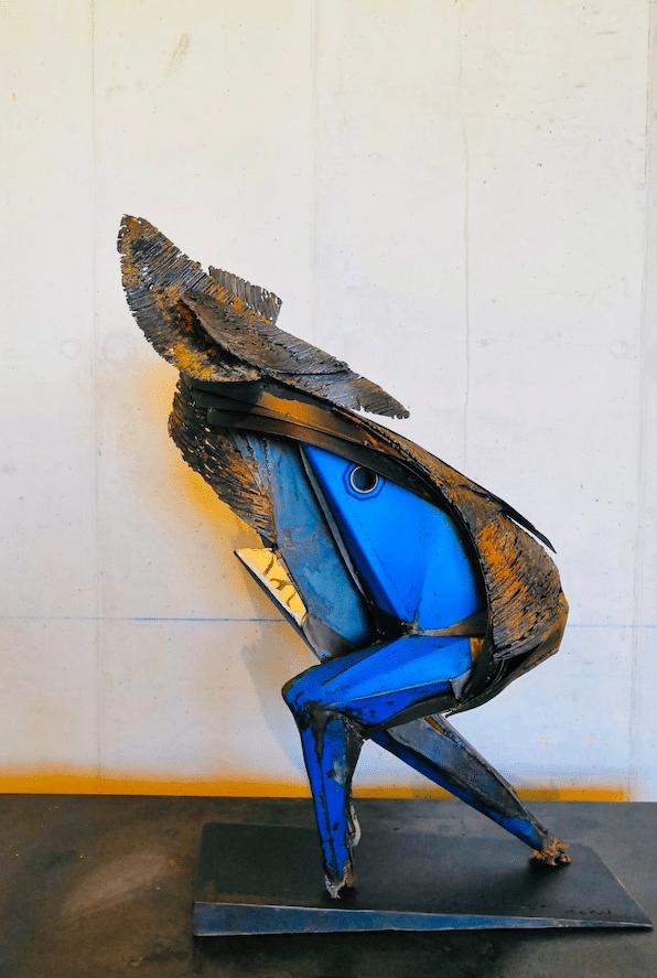 Nouvelle sculpture de Julien Allegre