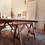 Table de salle à manger Ceramica Antoine Jourdan