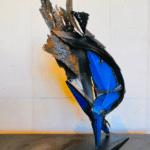 Sculpture de Julien Allegre : Infinité.