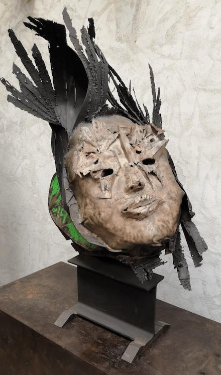 Sculpture acier, pièce unique de Julien Allegre