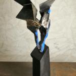 Sculpture Bronze de Julien Allegre - Vue arrière.