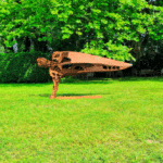 Sculpture de Julien Allegre : Exposition à la Fondation Poppy et Pierre Salinger.