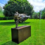 Sculpture Julien Allegre Fondation Poppy et Pierre Salinger