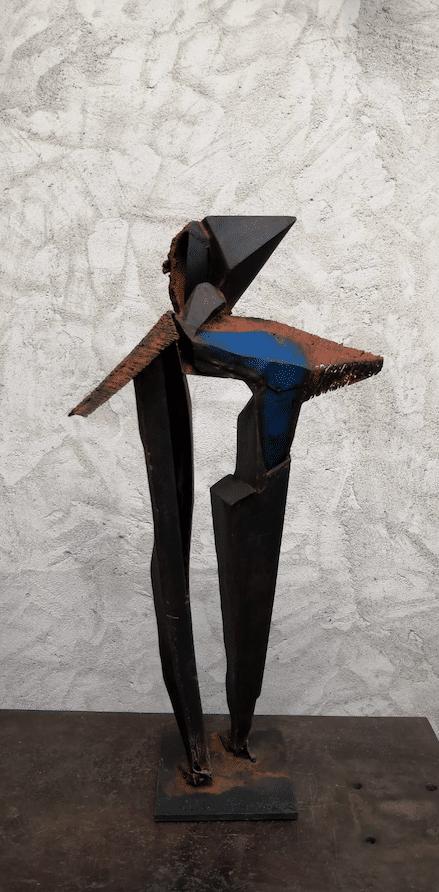 Sculpture de l'artiste sculpteur Julien Allegre
