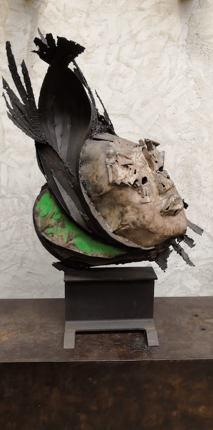 Sculpture pièce unique de Julien Allegre
