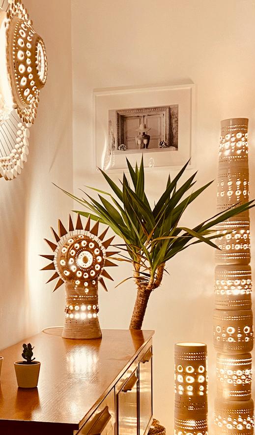 Lampe Soleil de Georges Pelletier