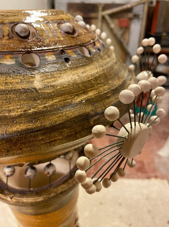Lampe Spoutnik de Georges Pelletier - Détails