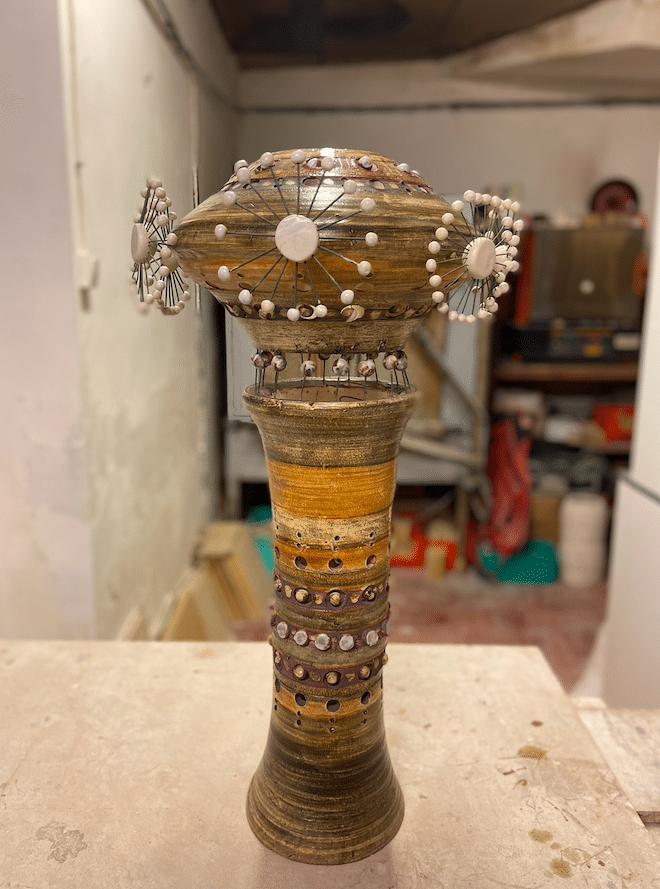Lampe Spoutnik de Georges Pelletier