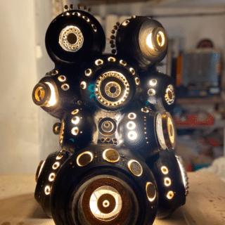 Lampe de sol de Georges Pelletier