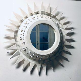 Miroir Georges Pelletier Blanc