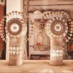 Paire de lampes céramique Georges Pelletier