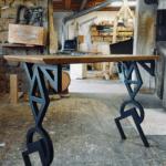 Console Ceramica by Antoine Jourdan et Georges Pelletier