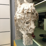 Sculpture Ariel Barsamian Tête