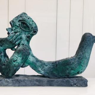 Sculpture Bronze Ariel Barsamian