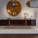 Suspension Furniture Design by Antoine Jourdan et Georges Pelletier, New York au Studio Van Den Akker
