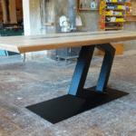 Table avec Céramique de Georges Pelletier