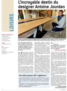 Article de presse Antoine Jourdan, Le Progrès