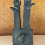 Sculpture Bronze Les Mains de Ariel Barsamian