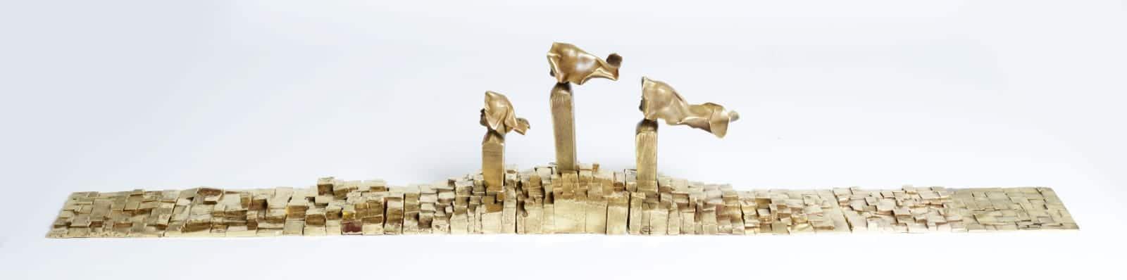 Sculpture bronze Tournaire Paris Mobilier Haute Couture