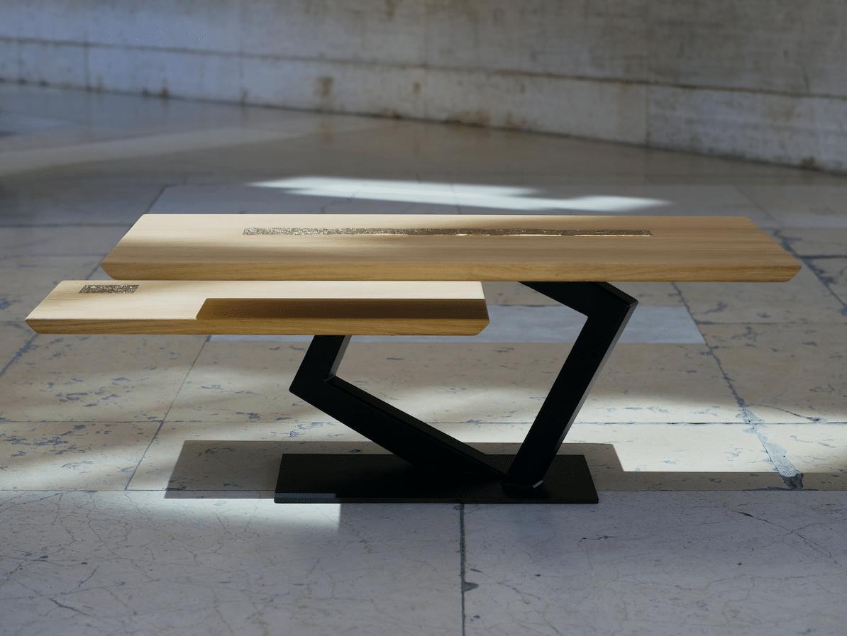 Table Basse Haute Couture by Antoine Jourdan et Tournaire Paris / Credit photo Christopher N'dong