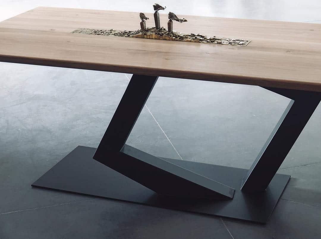Table Haute Couture by Tournaire Paris et Antoine Jourdan