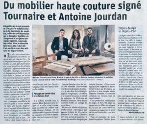 Article Le Progrès Gamme Haute Couture Antoine Jourdan et Tournaire Paris