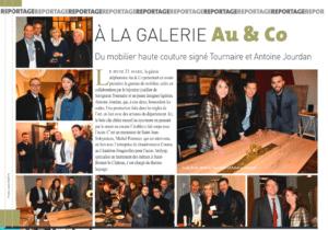 Article sur inauguration gamme haute couture paru dans le magazine STEMP