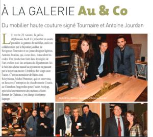 Présentation de la gamme Haute Couture by Tournaire Paris et Antoine Jourdan