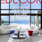 Magazine Elle Decor US June 2019, totem of Georges Pelletier