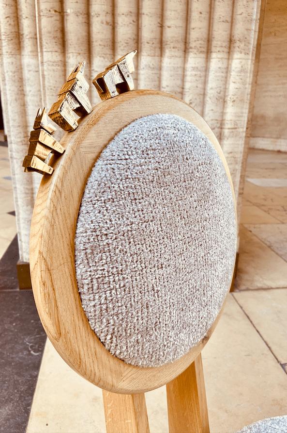 Fauteuil Haute Couture Place Vendôme Sculpture by Tournaire Paris