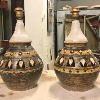 Paire de Lampes Georges Pelletier
