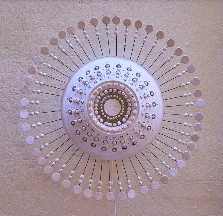 Applique Murale céramique by Georges Pelletier