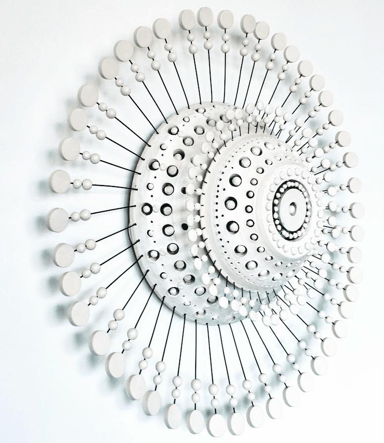 Luminaire en Céramique Georges Pelletier