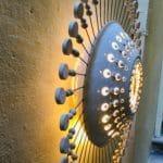 luminaire en céramique by Georges Pelletier