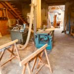 Atelier de menuiserie ou est fabriqué le mobilier Haute Couture