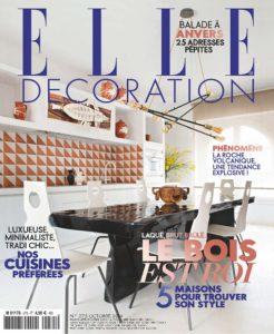 Elle-Décoration-N°275-Octobre-2019- Poisson Georges Pelletier