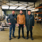 L'atelier de ferronnerie ou est fabriqué notre mobilier
