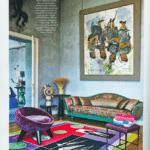Soleil Georges Pelletier dans le magazine AD Octobre-Novembre 2017 N°144