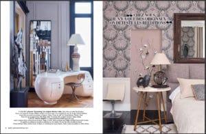 Lampe Vintage Georges Pelletier dans le magazine Marie Claire Maison de février 2019