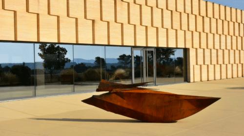 1440_exuvie Sculpture de Julien Allegre Domaine OTT